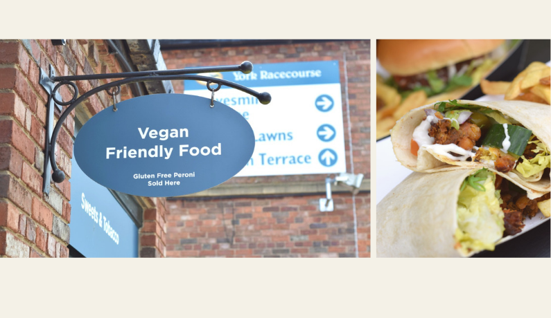 Vegan Friendly Food at York Racecourse